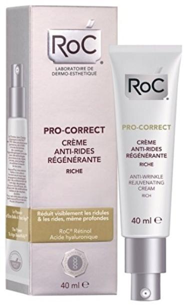 Pro-Correct Anti Wrinkle 40 Ml Kırışık Karşıtı Bakım Kremi-Roc